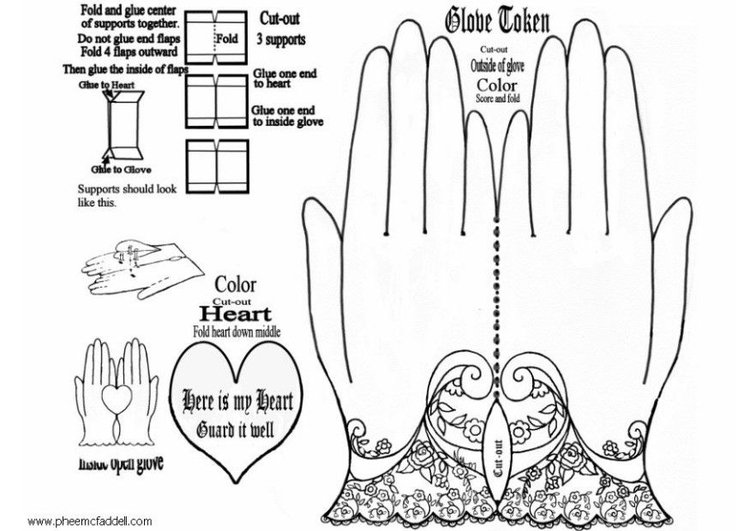 Craft glove pattern