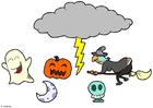 Craft Halloween mobile
