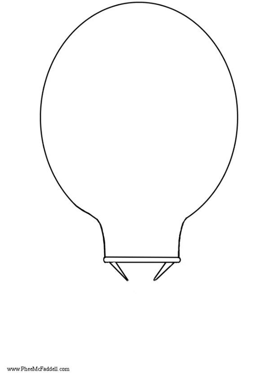 Craft hot air balloon