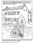 Coloring pages George C. Marshall coloring book