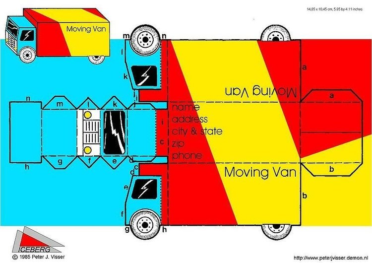 Craft moving van