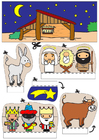 Crafts for kids nativity scene show-box