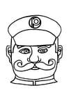 Craft Policeman mask