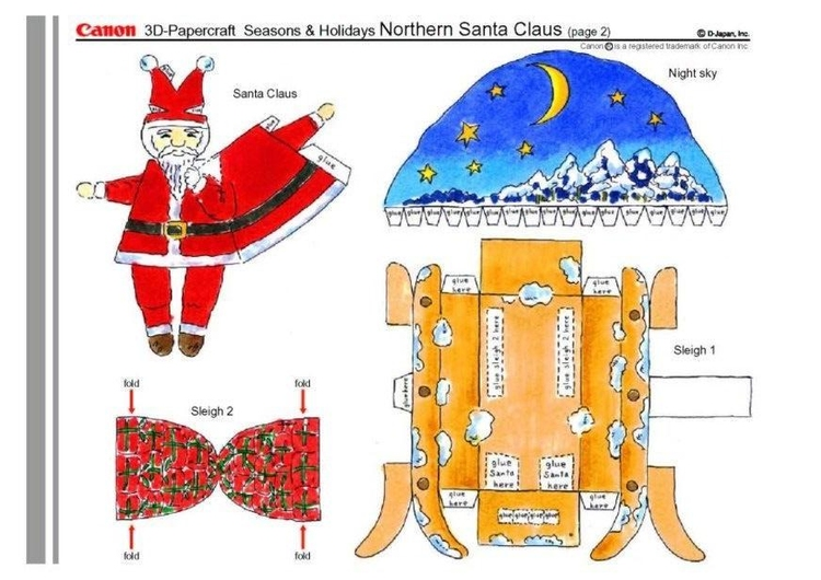 Craft santa claus 2