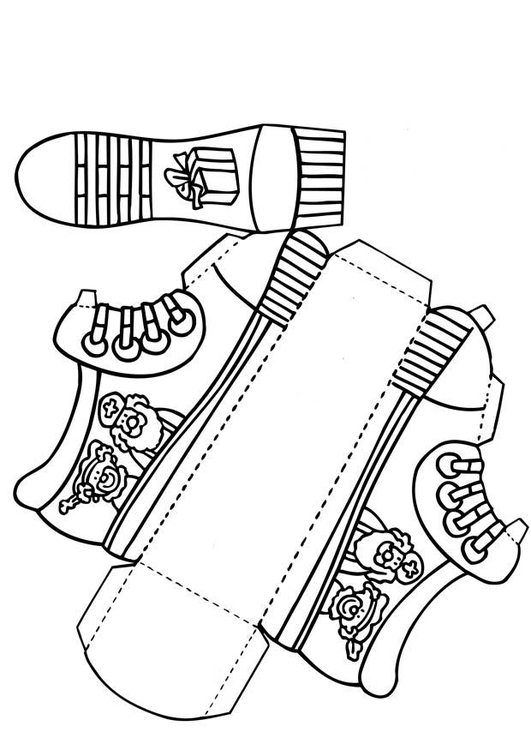 Craft Shoe for Saint Nicholas (without text)