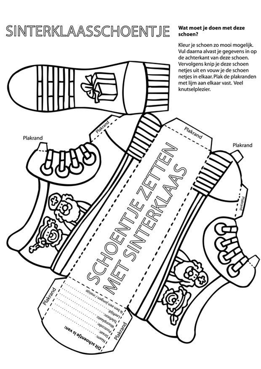 Crafts Shoe For Saint Nicholas 8672x Arts And Crafts For