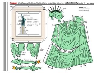 Craft Statue of Liberty 3
