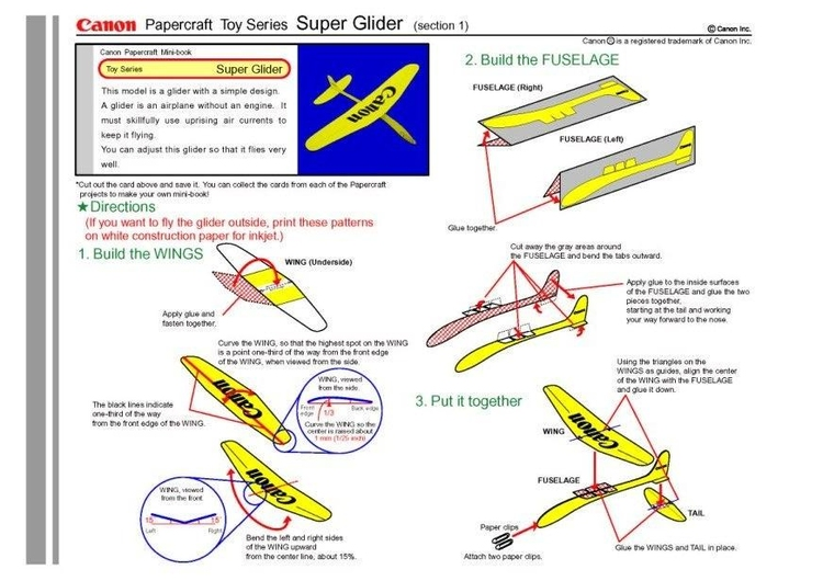 Craft super glider 1
