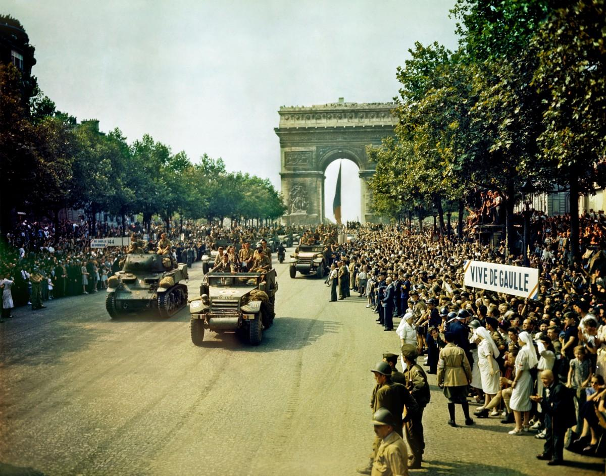 Освобождение Парижа. Август 1944