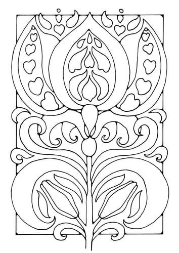 Окраска цветка страницу