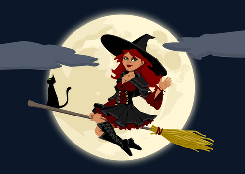 Image halloween witch
