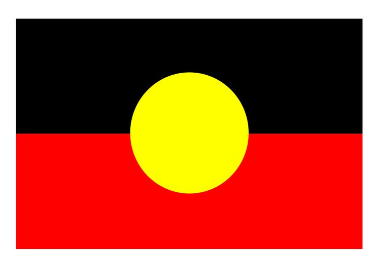 Image Aboriginal flag