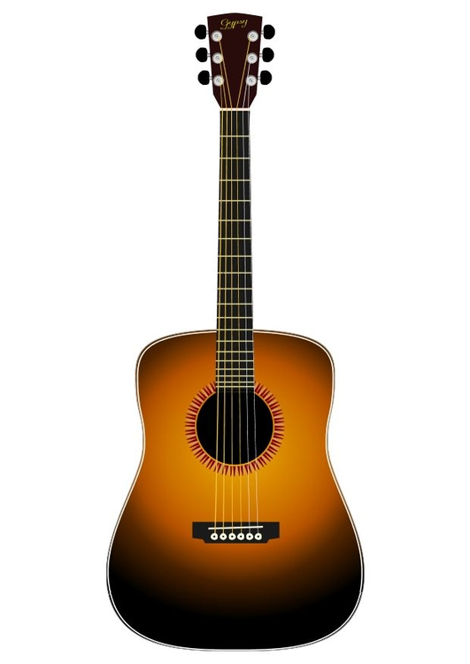 Image accoustic guitar