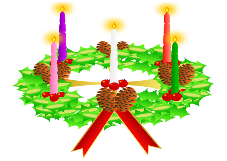 Image Advent wreath