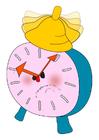 Image alarm clock