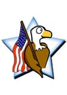 Images American flag with eagle