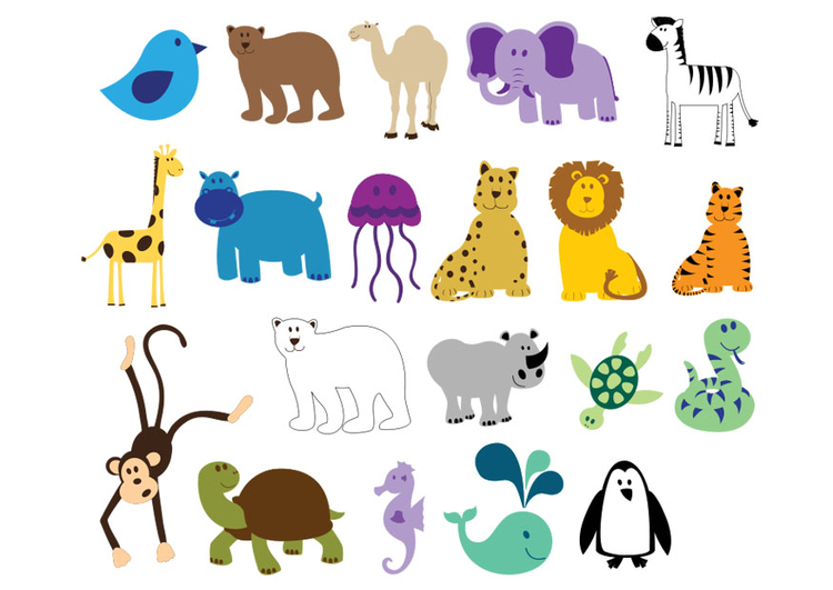 Image animal icons