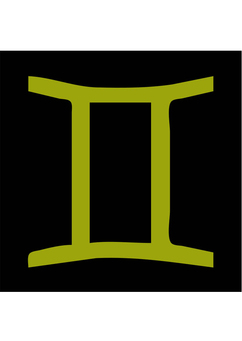 Image astrological sign - gemini