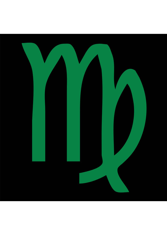 Image astrological sign - virgo