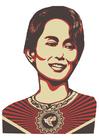 Image Aung San Suu Kyi