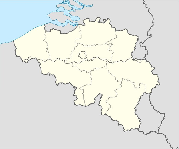 Image Belgium with provinces
