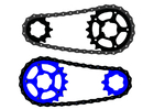 Image bicycle chain