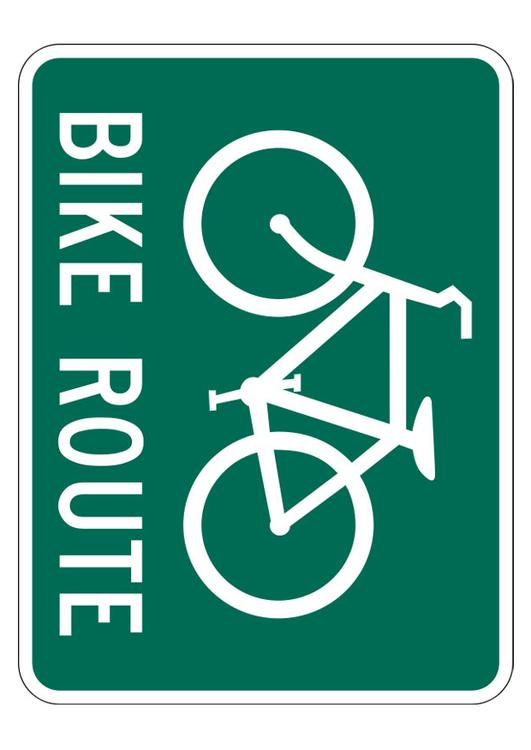 bicycle route