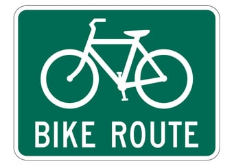 Image bicycle route