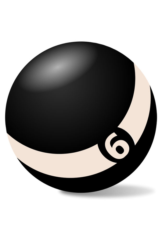 Image billiard ball