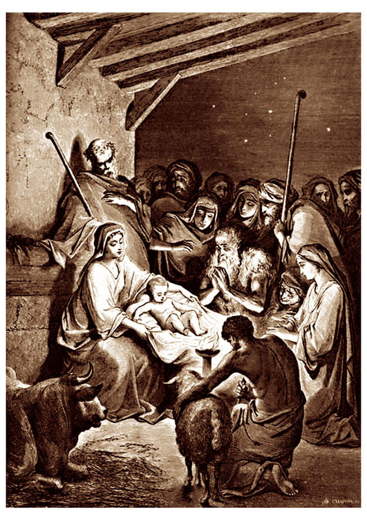 Image birth of Jesus