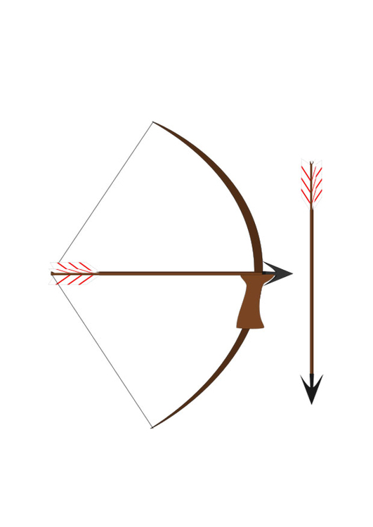 Image bow and arrow