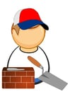 Images bricklayer