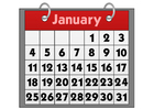 Images calendar - January