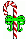 Images candy cane bow