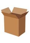 Image cardboard box