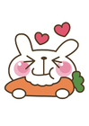 Image carrot - rabbit