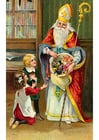 Images children with Santa Claus