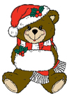Image christmas bear