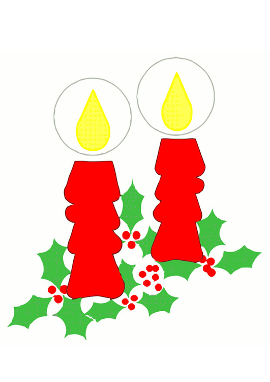 Image christmas candles