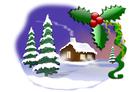 Image christmas scene