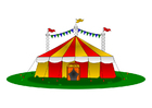 Image circus tent