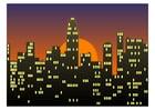 Image city scene