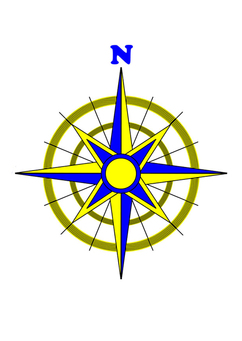 Image compass rose