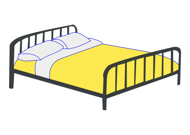 Image double bed