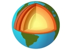 Image Earth cross section