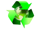 Image earth - recycling