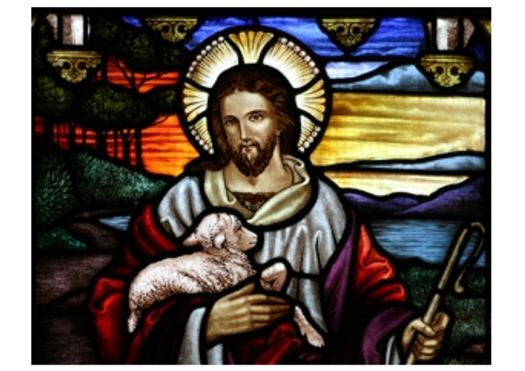 Image Easter - Jesus with lamb