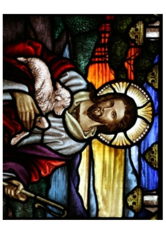Easter - Jesus with lamb