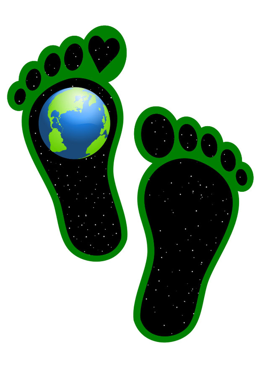 Image ecological footprint