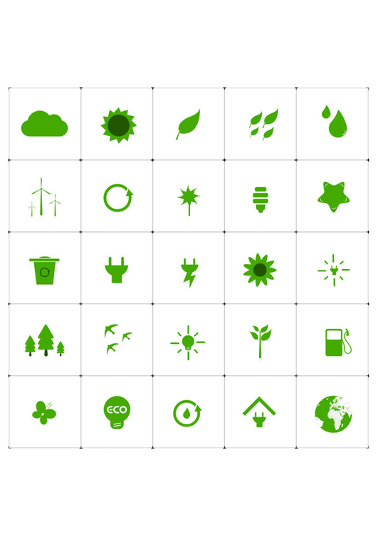 Image ecological icons